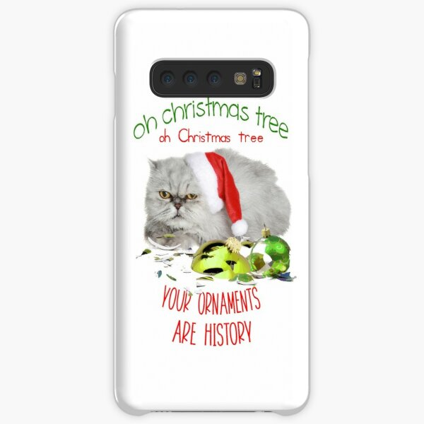 Funny Christmas Cat Oh Christmas Tree Samsung Galaxy Snap Case
