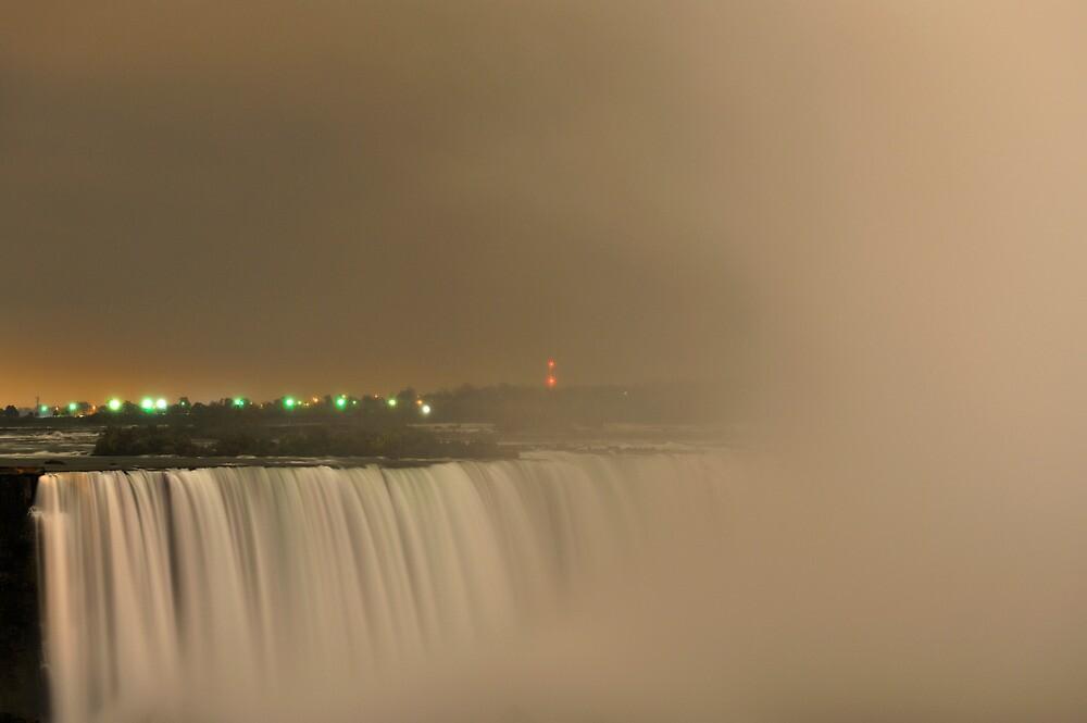 Niagara Falls at Dusk by Kasia Nowak