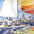 City Sailing by Kate Eller
