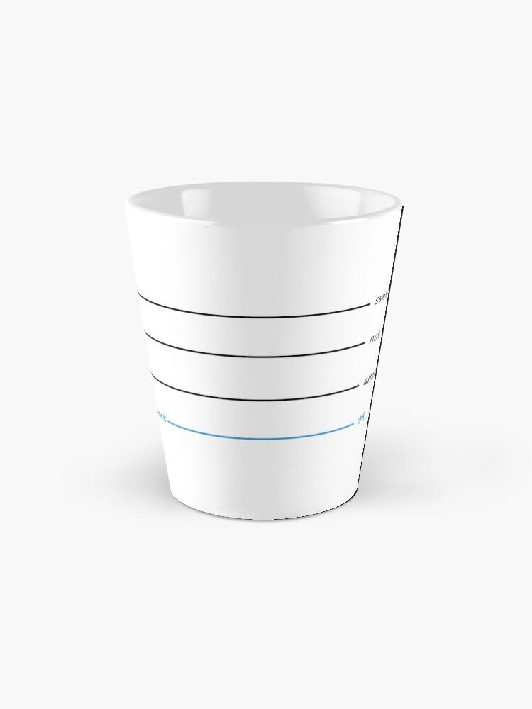 Alternate view of Coffee Cup for Tweeters Mug