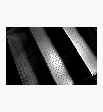 Metal Stairs Photographic Print