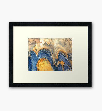 """""""Blue Hills""""  Framed Print"""