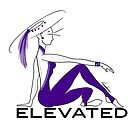 Elevated Lady (Purple - Text) by Roxana Frontini