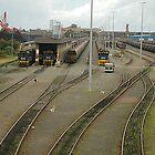 Newcastle Coal Loader Terminal - NSW Australia by Phil Woodman