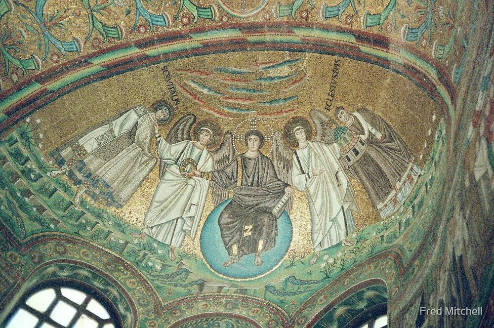 Apse San Vitale Ravenna 19840414 0001  by Fred Mitchell