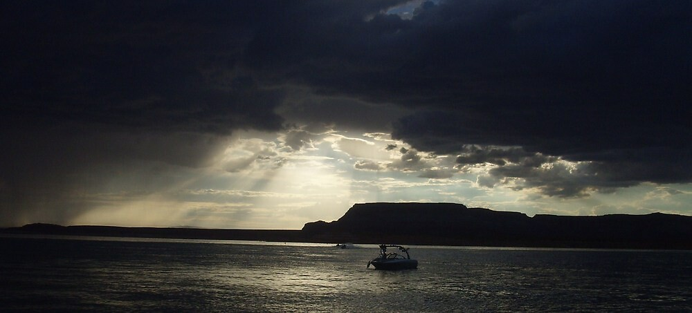 """"""" Calm after the Storm- Lake Powell, AZ """" by NikkiLoomis"""