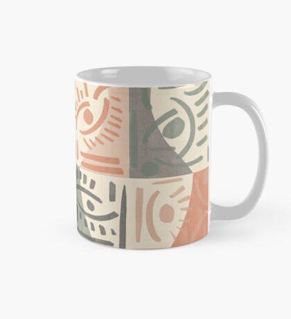 Tribal Tiles #redbubble #pattern Mug