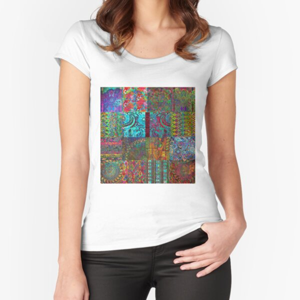 Bohemian Wonderland Fitted Scoop T-Shirt