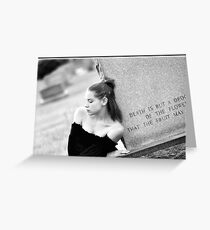 Rememberence  Greeting Card