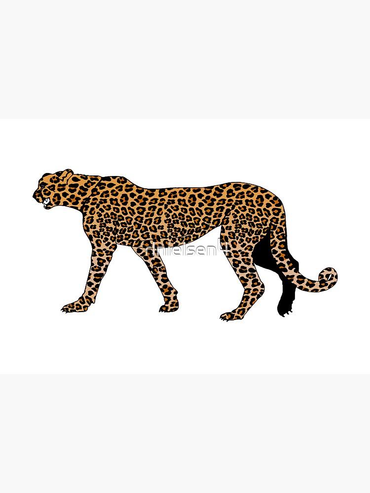 Leopard print by rlnielsen4