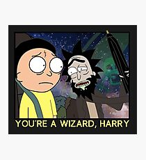 You're a Wizard, Harry Photographic Print