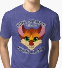 Fire Alone Tri-blend T-Shirt