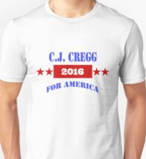 CJ CREGG 2016 Unisex T-Shirt