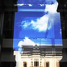 Reflections of a Portal-Stadsreich building Berlin by mypic