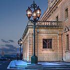 Central Bank of Malta ---- Valletta Malta by Edwin  Catania