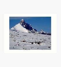 Mount Washington near McKenzie Pass, Oregon Art Print