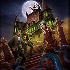 Call of Cthulhu Starter Set Cover von Victor Leza von Chaosium