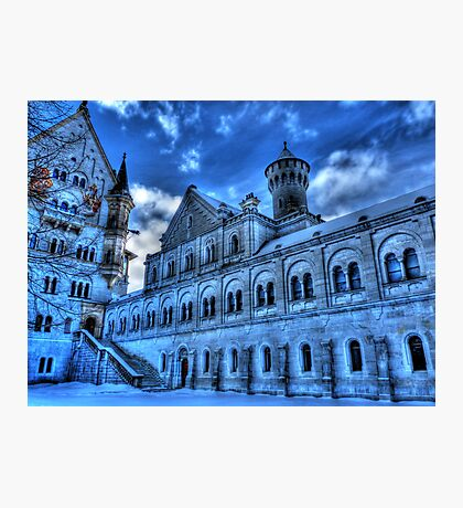 Neuschwanstein Knight's House Photographic Print