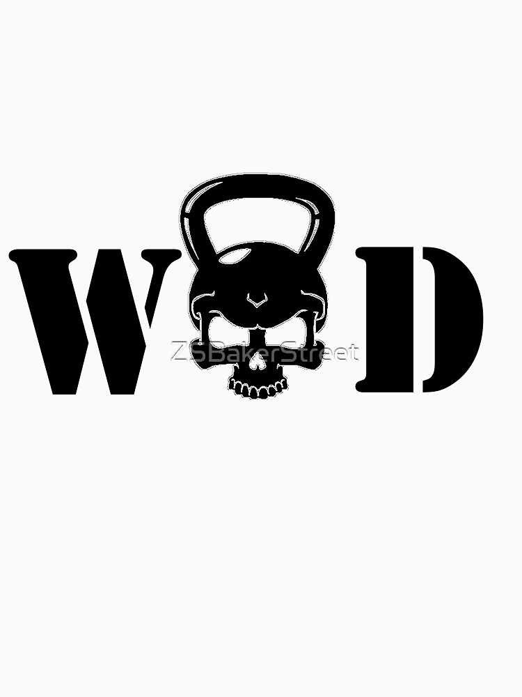 WOD Kettlebell Skull Black by ZSBakerStreet