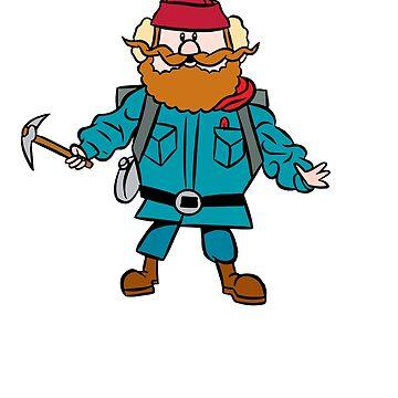 Rudolph el reno de nariz roja Yukon Cornelius de astropop