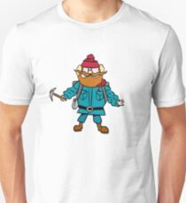 Rudolph der Rotnasen Rentier Yukon Cornelius Slim Fit T-Shirt