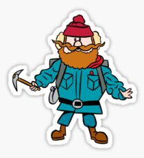 Rudolph the Red-Nosed Reindeer Yukon Cornelius Sticker
