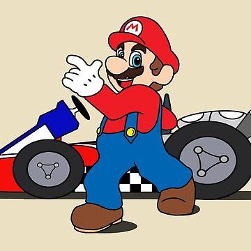 Mario Kart - Speed Racer by BlueApex