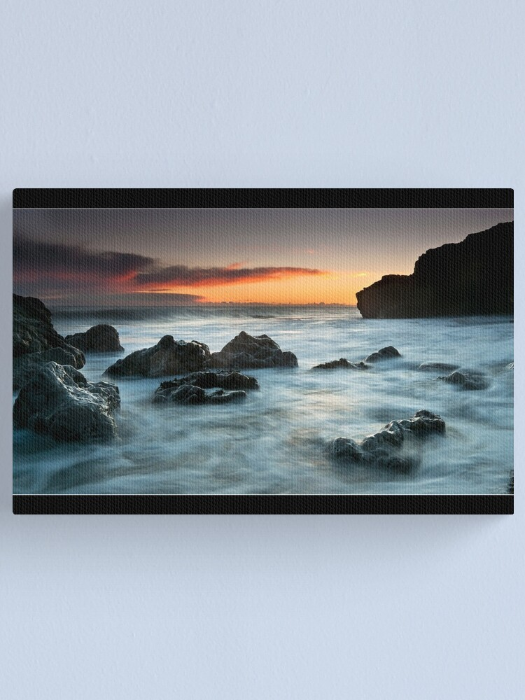 Alternate view of Rocky Morning Canvas Print