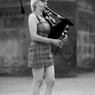 AN UNCONVENTIONAL PIPER by chick