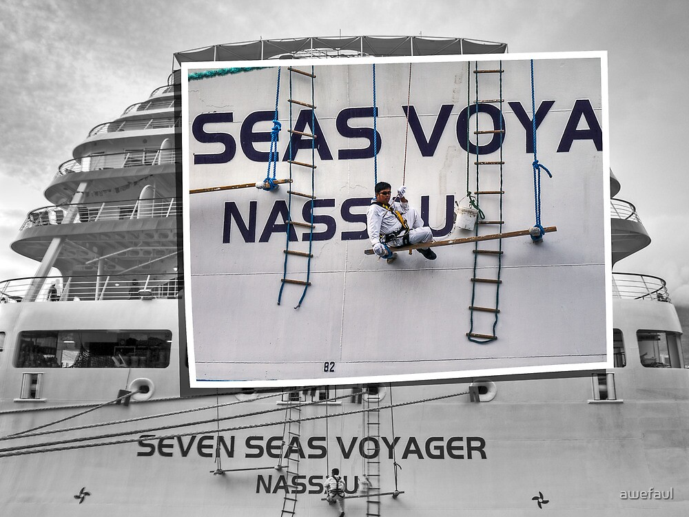 The Seven Seas Voyager by awefaul