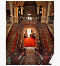 Inside Barwon Park Mansion (National Trust) Poster