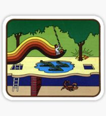 Atari Activision Pitfall Harry Sticker
