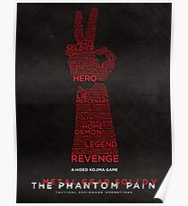 Words Can Kill - Metal Gear Solid V: The Phantom Pain Poster