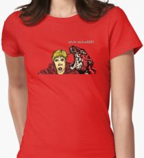 Calvin & Hobbes Grown Up Womens Fitted T-Shirt