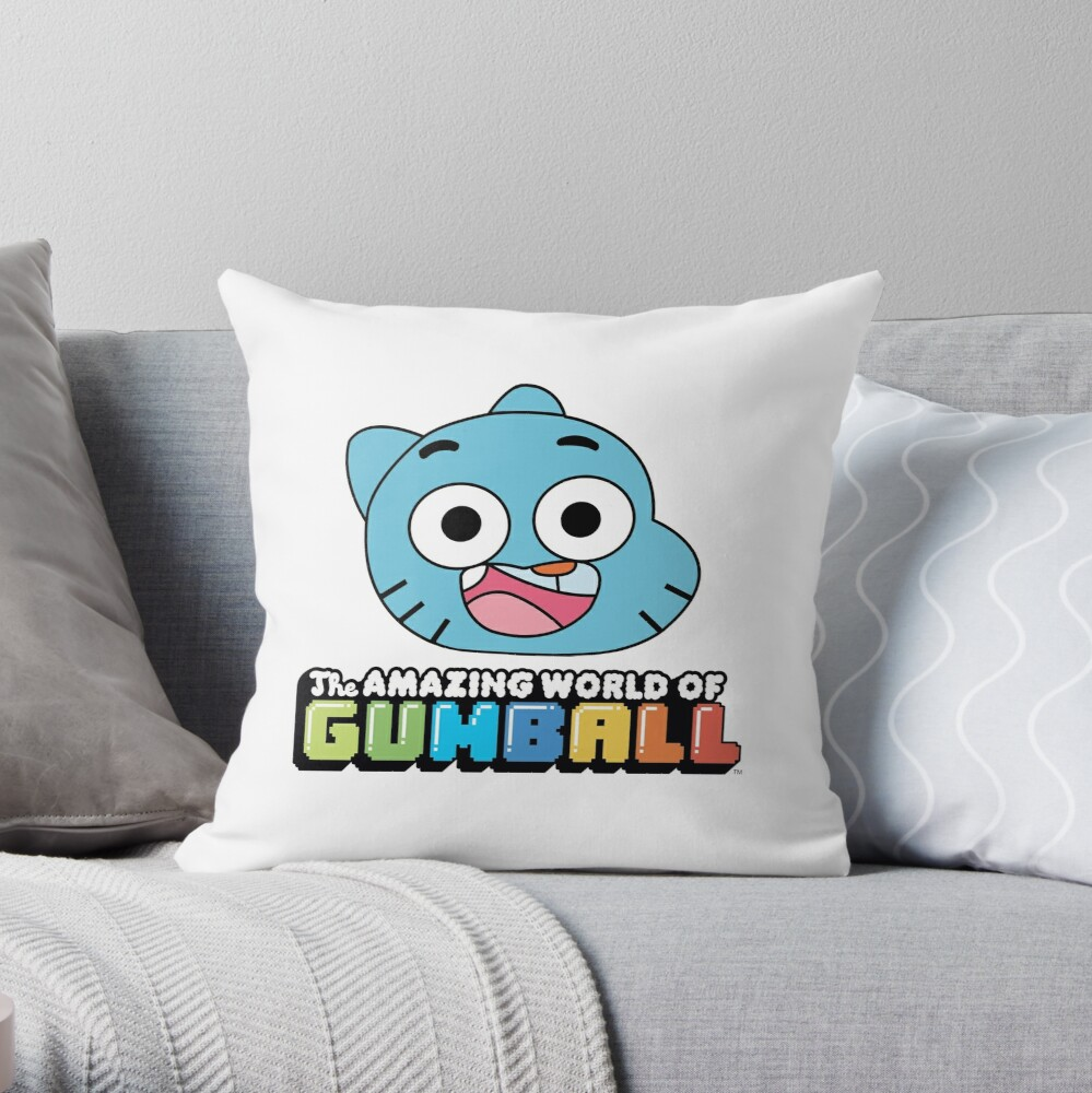 The Amazing World of Gumball™ Throw Pillow