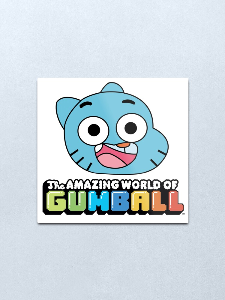 Alternate view of The Amazing World of Gumball™ Metal Print