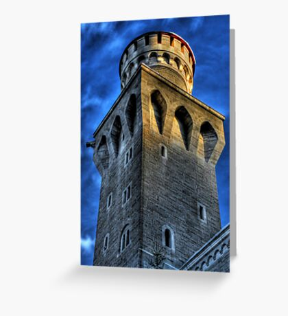 Knight's Tower III Greeting Card