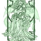 Eternal Struggle in Green by redqueenself