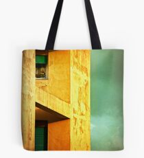 Three at the window Tote Bag
