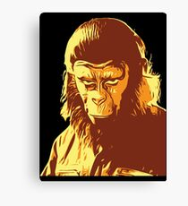 Planet Of The Apes T-Shirt Canvas Print
