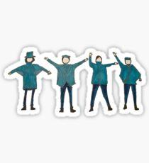 Help me if you can I'm feelin' down  Sticker