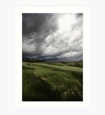 Greendale Storm Art Print