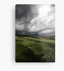 Greendale Storm Metal Print