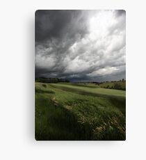 Greendale Storm Canvas Print