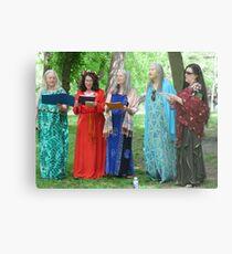 Beltane Choir Metal Print