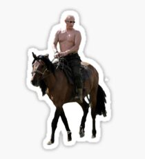 Vladimir Putin Deal With It Sticker
