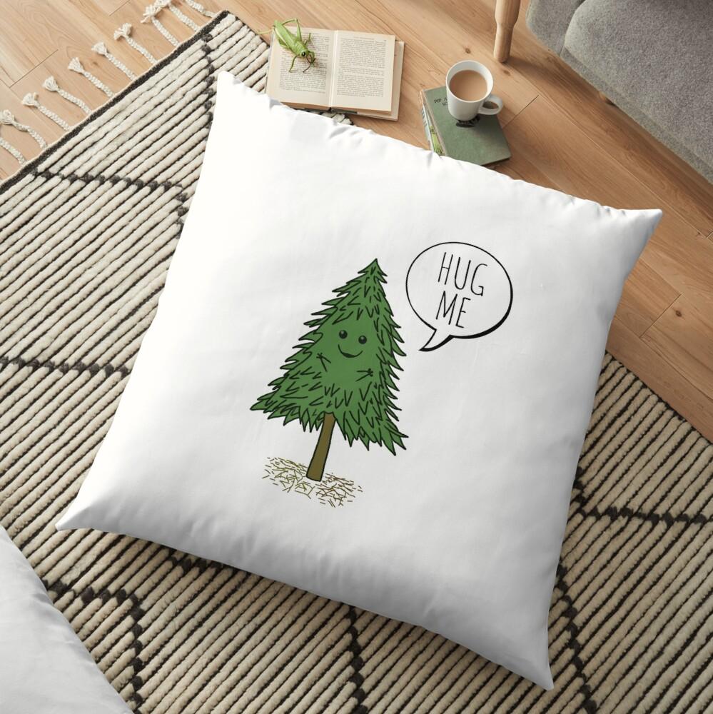 Treehugger Floor Pillow