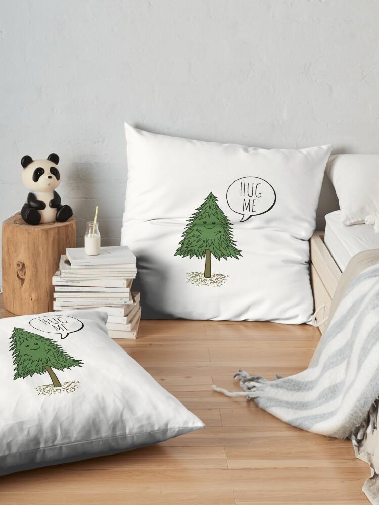 Alternate view of Treehugger Floor Pillow