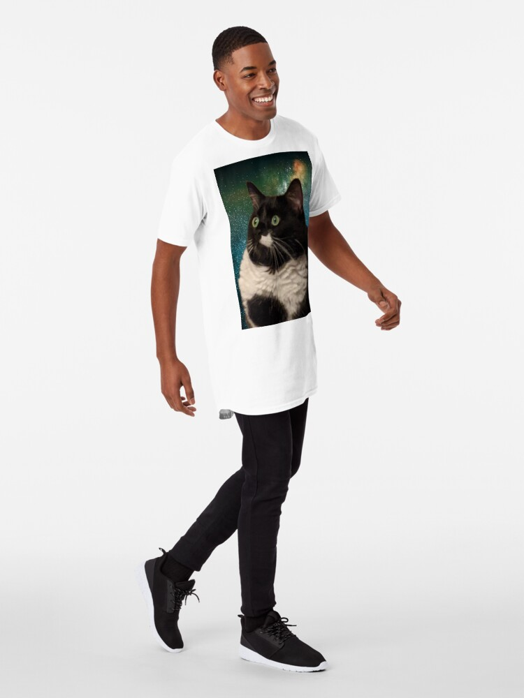 Alternate view of Truth Cat Long T-Shirt