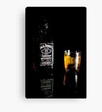 Jack Daniels Time Canvas Print